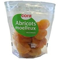 CORA Abricots moelleux