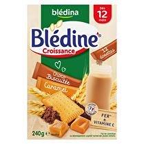 BLÉDINA Bledine croissance - Dosettes croissance choco biscuitee/caramel dès 12 mois  x12