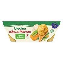 BLÉDINA Idée de maman - Légumes du jardin dès 12 mois 2x200g
