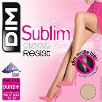 DIM Collant sublim absolu resist Beige naturel T4