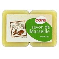 CORA Savon de Marseille à l'huile d'amande douce