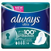 ALWAYS Serviettes ultra normal plus