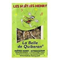 VOTRE POISSONNIER PROPOSE Huître spéciale de la Baie de Quiberon- la bourriche