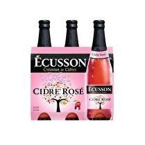 ECUSSON Cidre rosé 3%