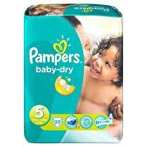 PAMPERS Couches T5 11-25kg