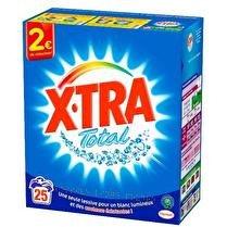 X-TRA Lessive poudre 25 lavages 1,375kg