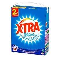 X-TRA Lessive poudre 50 lavages