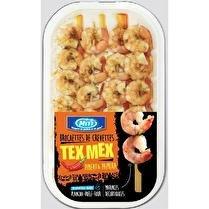 MITI Brochettes de queues de crevettes Tex-Mex