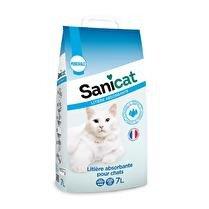 SANICAT Litière absorbante pour chat