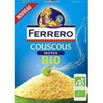 FERRERO Couscous moyen BIO