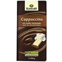 ALNATURA Chocolait au lait & blanc au capuccino BIO