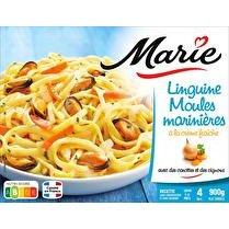 MARIE Linguine moules marinieres à la crème