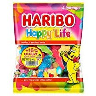 HARIBO Bonbons Happy life - 270 g + 15% gratuits