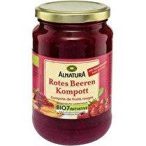 ALNATURA Compote de fruits rouges BIO