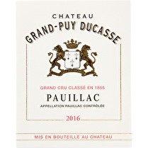 CHÂTEAU GRAND-PUY DUCASSE Pauillac AOP Rouge5ème Grand Cru Classé en 1855 13.5%