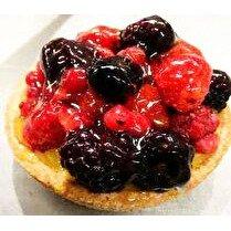 VOTRE PÂTISSIER PROPOSE Tartelettes fruits rouges crème patissière x 2