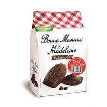 BONNE MAMAN Madeleine tradition  Chocolat  - x 12 + 2 offerts soit 350 g