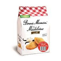 BONNE MAMAN Madeleine tradition Vanille  - x 12 + 2 offerts soit 350 g
