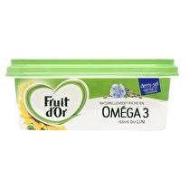 FRUIT D'OR Margarine Oméga 3 Demi-sel  - 250 g