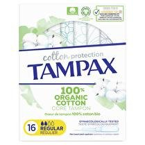 TAMPAX Tampax cotton protection regular