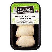 LA NOUVELLE AGRICULTURE Hauts de cuisse de poulet jaune - x 4