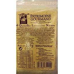 PATRIMOINE GOURMAND 4 Quenelles Lyonnaises natures
