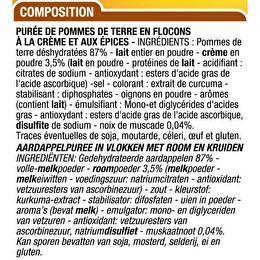 CORA Purée dégustation 3x125g