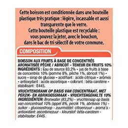 CORA Boisson pêche abricot