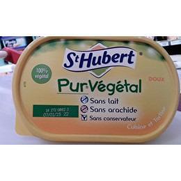 ST HUBERT Margarine pur végétal doux
